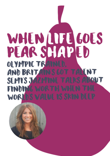 Jazmine Pear Shaped Talk Flyer